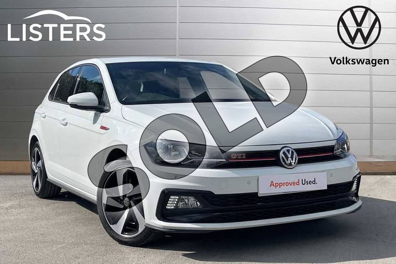 2018 Volkswagen Polo Hatchback 2.0 TSI GTI 5dr DSG in Pure white at Listers Volkswagen Loughborough