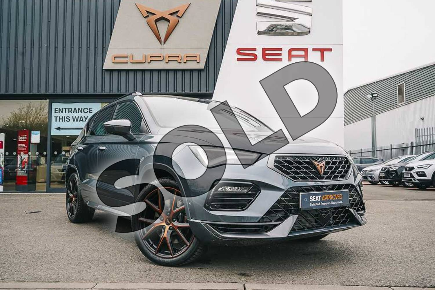 2021 Cupra Ateca Estate 2.0 TSI VZ1 5dr DSG 4Drive in Grey at Listers SEAT Coventry
