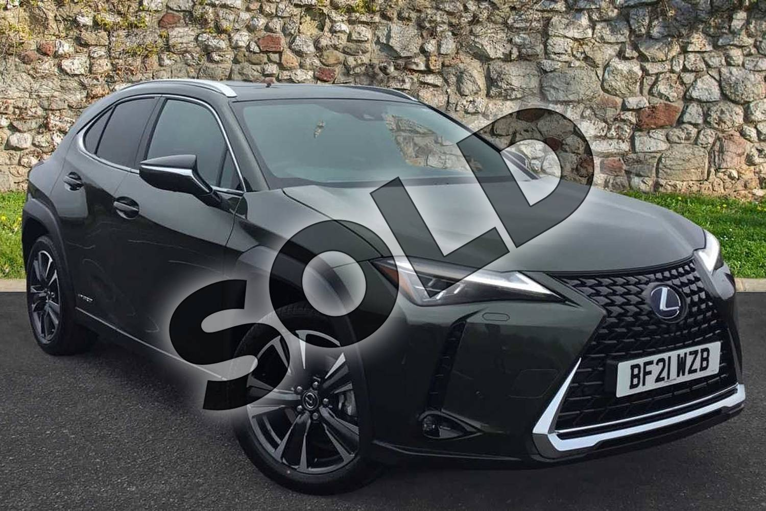 2021 Lexus UX250h Takumi in Terrane Khaki at Lexus Coventry