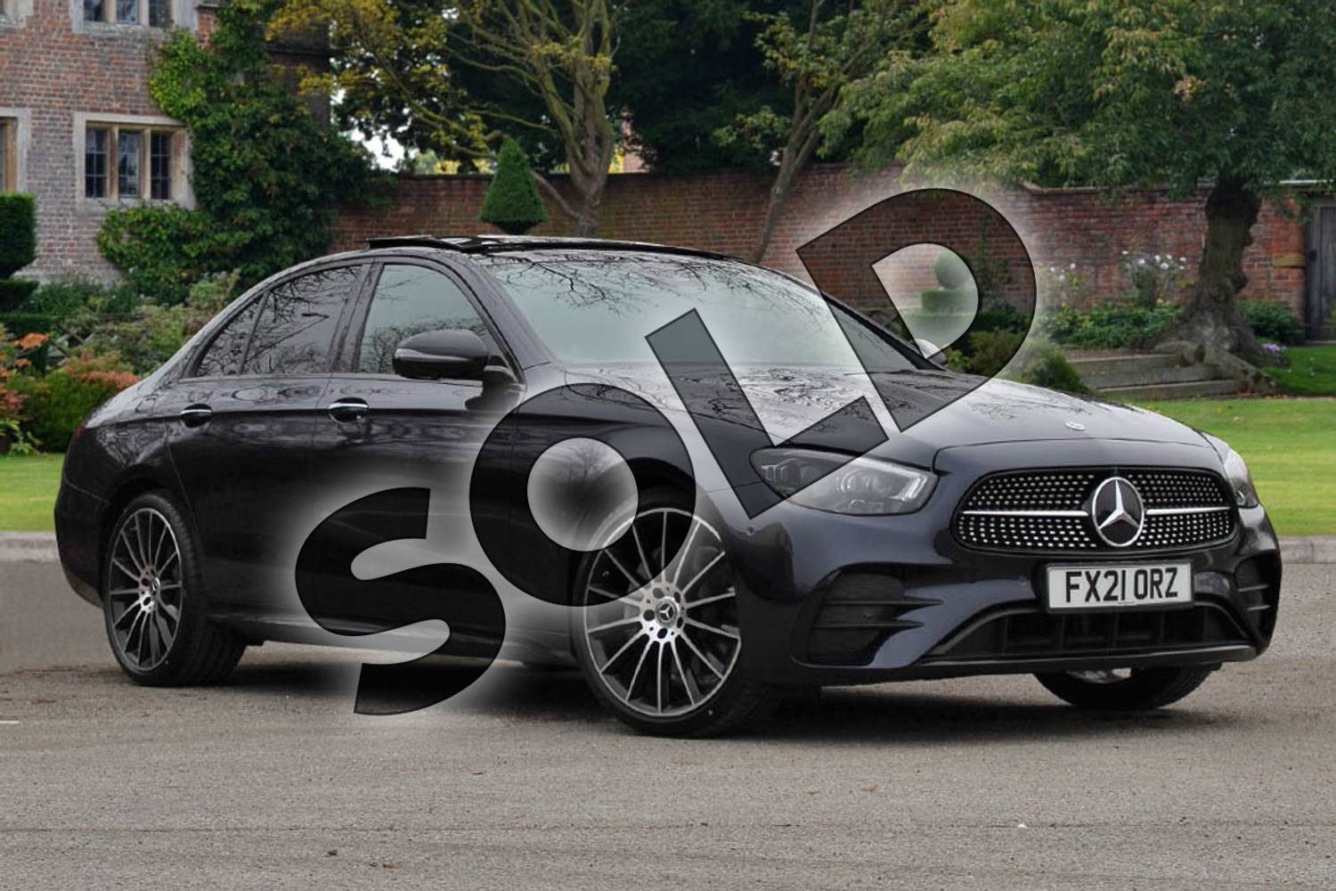 2021 Mercedes-Benz E Class E220d AMG Line Night Edition Prem+ 4dr 9G-Tronic in Cavansite Blue Metallic at Mercedes-Benz of Lincoln