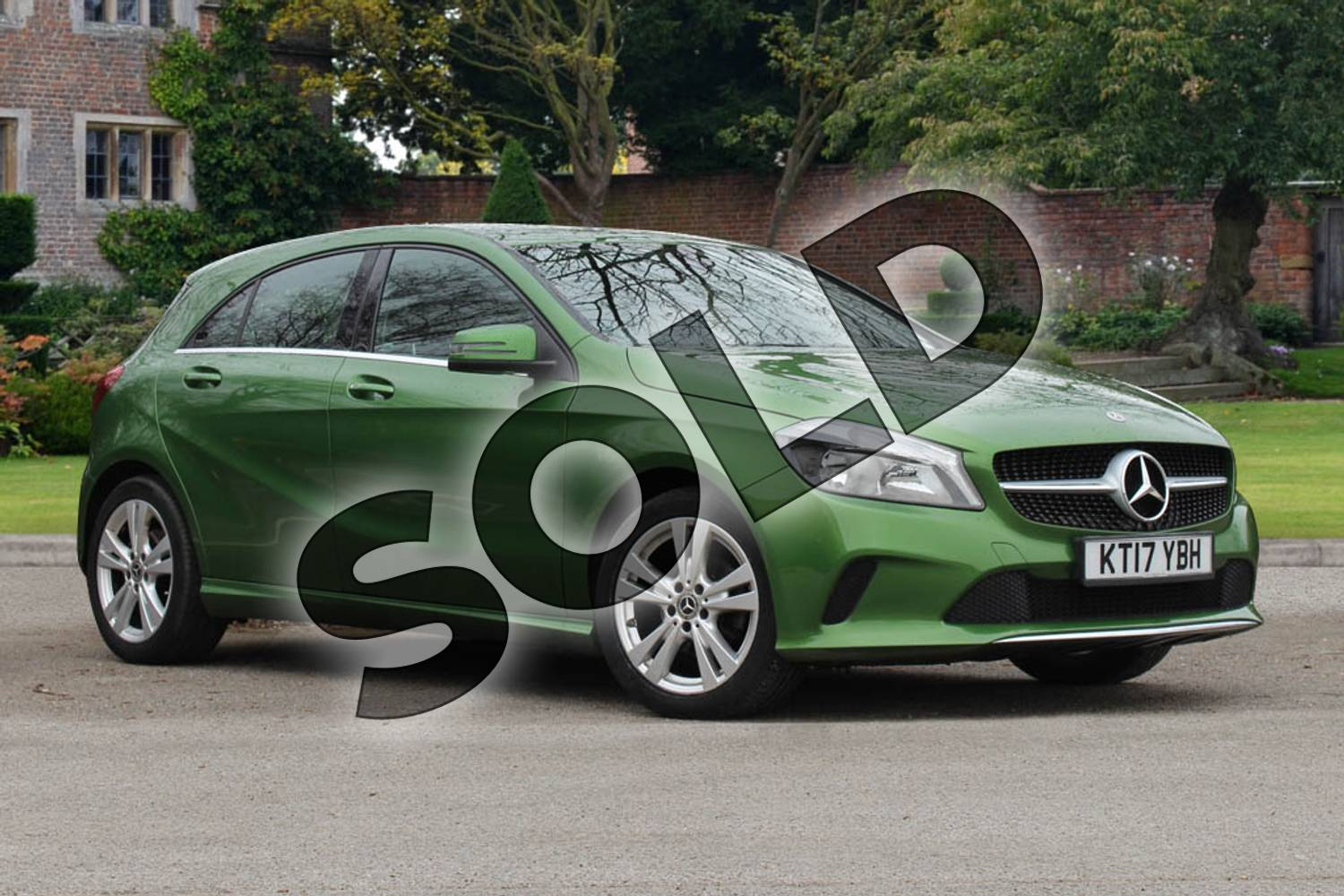 2017 Mercedes-Benz A Class Diesel Hatchback A180d Sport 5dr Auto in Elbaite green at Mercedes-Benz of Lincoln