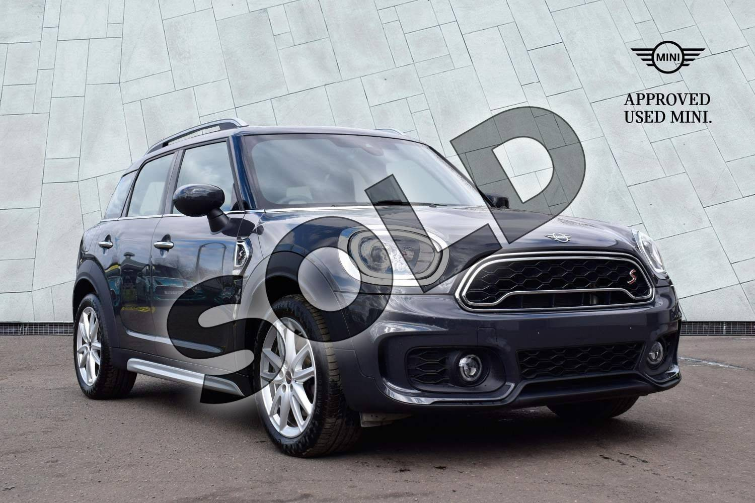 2019 MINI Countryman Hatchback 2.0 Cooper S Sport 5dr Auto in Thunder Grey at Listers Boston (MINI)