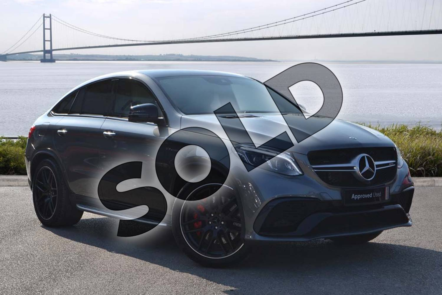 2019 Mercedes-Benz GLE AMG Coupe GLE 63 S 4Matic Night Edition 5dr 7G-Tronic in selenite grey metallic at Mercedes-Benz of Hull