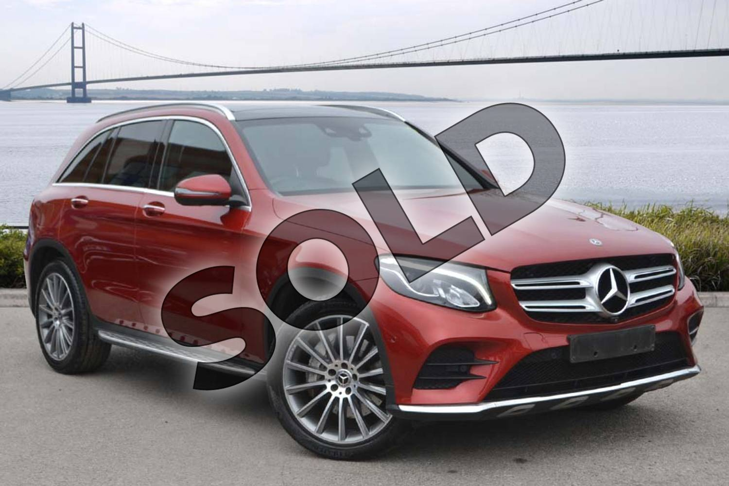 2017 Mercedes-Benz GLC Diesel Estate GLC 250d 4Matic AMG Line Premium 5dr 9G-Tronic in designo hyacinth red metallic at Mercedes-Benz of Hull