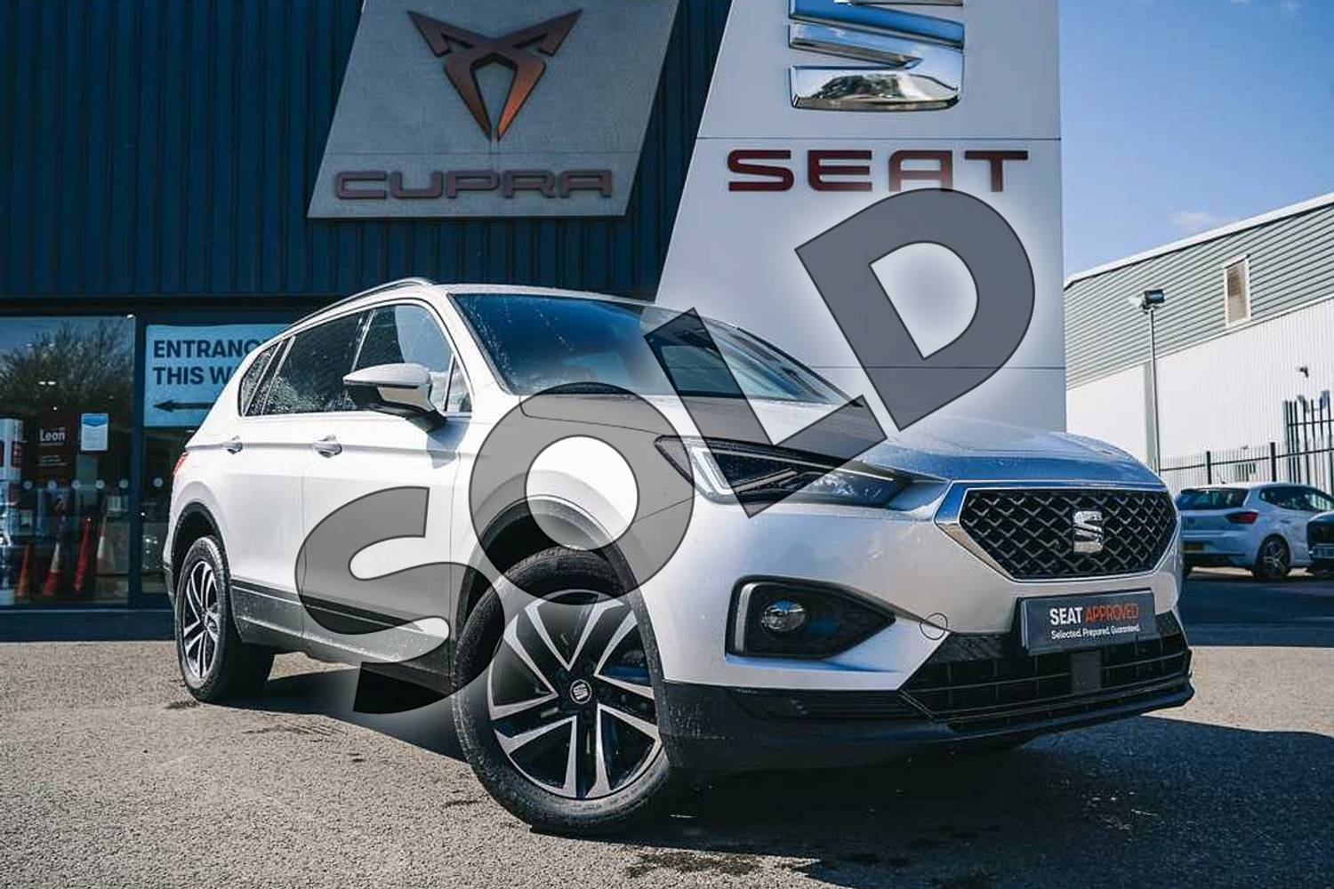 2019 SEAT Tarraco Estate 1.5 TSI EVO SE Technology 5dr in Silver at Listers SEAT Coventry