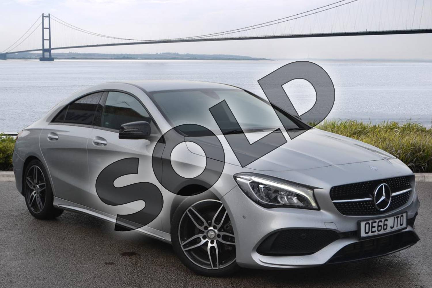 2017 Mercedes-Benz CLA Diesel Coupe CLA 200d AMG Line 4dr in polar silver metallic at Mercedes-Benz of Boston