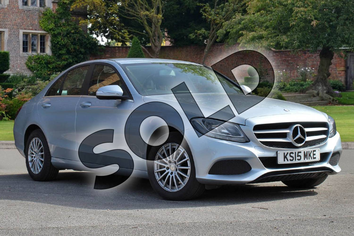2015 Mercedes-Benz C Class Diesel Saloon C220 BlueTEC SE Executive 4dr Auto in Diamond Silver Metallic at Mercedes-Benz of Lincoln