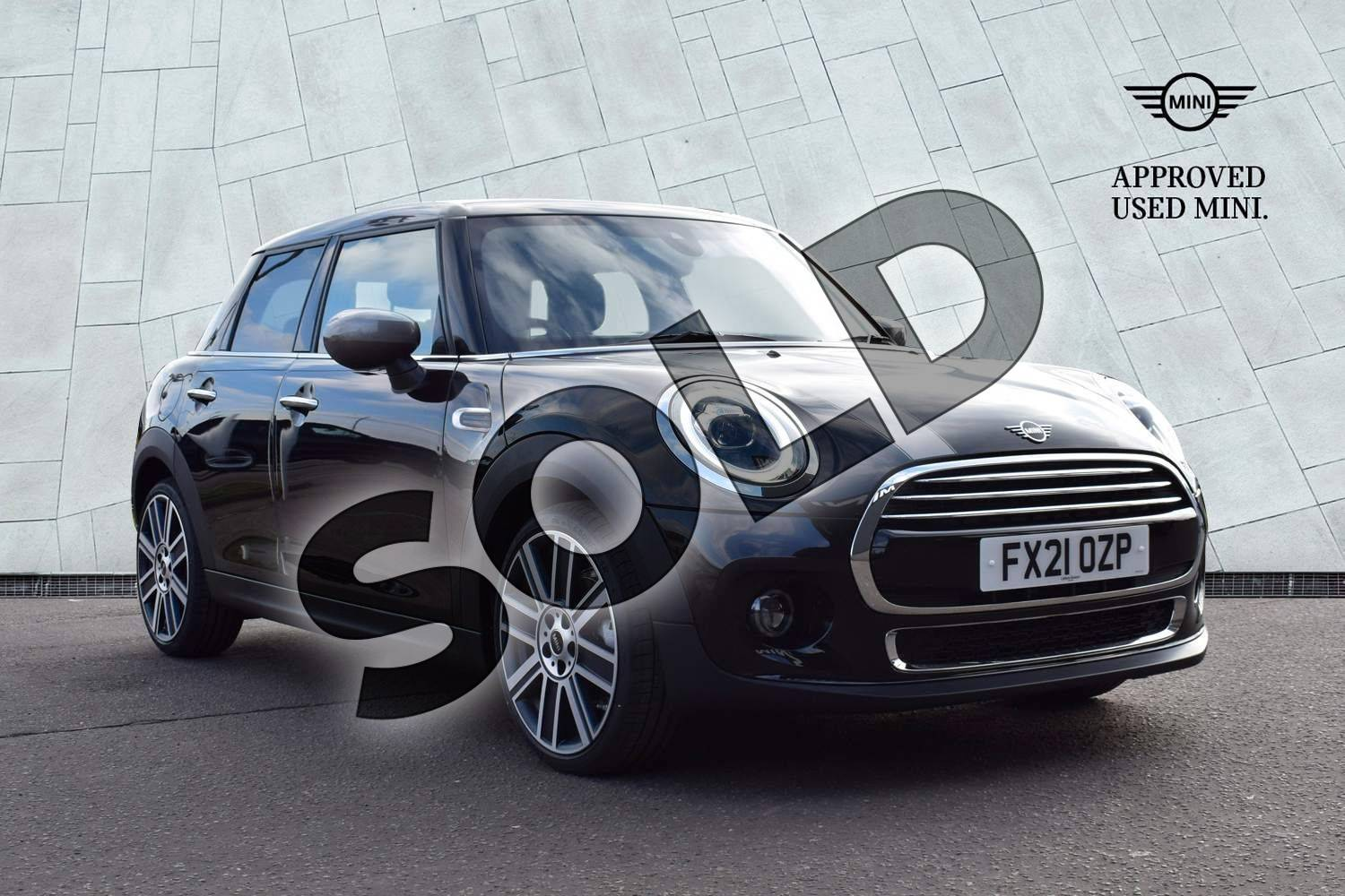 2021 MINI Hatchback 1.5 Cooper Exclusive II 5dr in Midnight Black at Listers Boston (MINI)