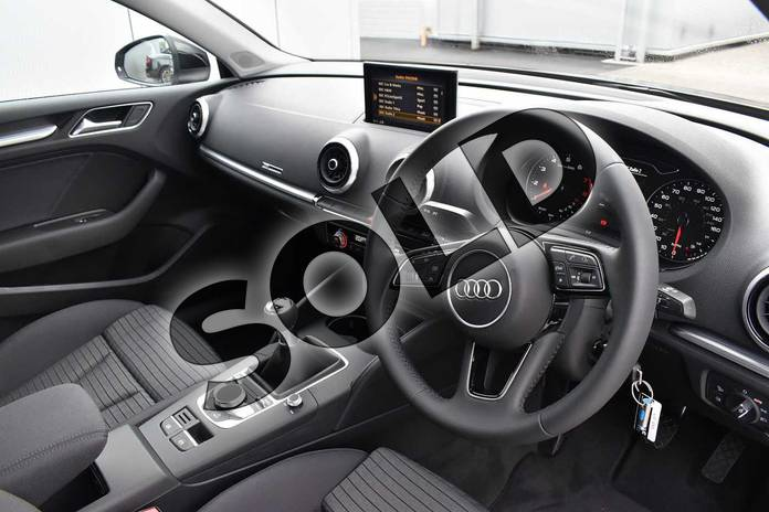 Image six of this 2018 Audi A3 Saloon 1.5 TFSI Sport 4dr in Myth Black Metallic at Stratford Audi