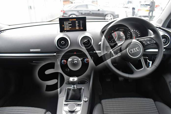 Image nine of this 2018 Audi A3 Saloon 1.5 TFSI Sport 4dr in Myth Black Metallic at Stratford Audi