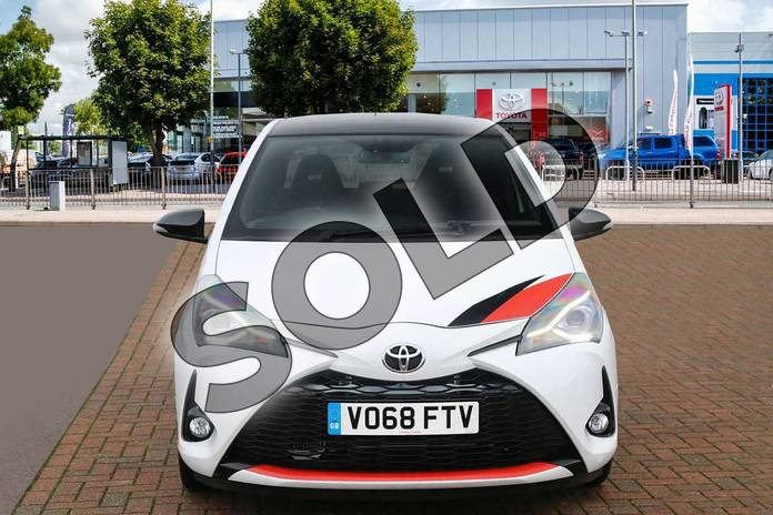 Image seven of this 2018 Toyota Yaris Hatchback Special Editions Special Editions 1.8 Supercharged GRMN Edition 3dr in White/Black at Listers Toyota Cheltenham