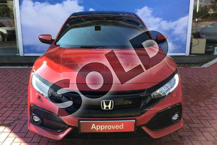 Image four of this 2018 Honda Civic Diesel Hatchback Diesel 1.6 i-DTEC EX 5dr Auto  in Rallye Red  at Listers Honda Coventry