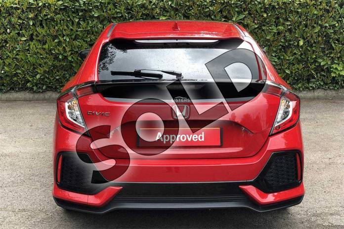 Image seven of this 2018 Honda Civic Diesel Hatchback Diesel 1.6 i-DTEC EX 5dr Auto  in Rallye Red  at Listers Honda Coventry