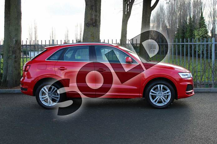 Image four of this 2018 Audi Q3 Estate Special Editions Special Editions 2.0 TDI Quattro S Line Edition 5dr in Misano Red Pearlescent at Coventry Audi
