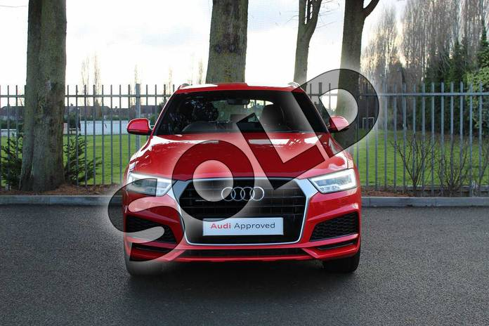 Image seven of this 2018 Audi Q3 Estate Special Editions Special Editions 2.0 TDI Quattro S Line Edition 5dr in Misano Red Pearlescent at Coventry Audi