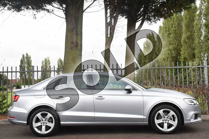 Image five of this 2018 Audi A3 Diesel Saloon Diesel 2.0 TDI Sport 4dr S Tronic (7 Speed) in Floret Silver Metallic at Coventry Audi