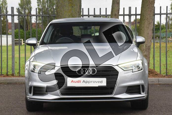 Image seven of this 2018 Audi A3 Diesel Saloon Diesel 2.0 TDI Sport 4dr S Tronic (7 Speed) in Floret Silver Metallic at Coventry Audi