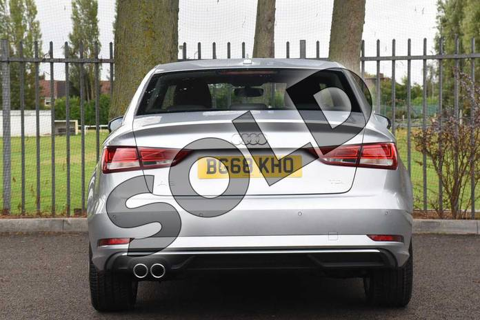 Image eight of this 2018 Audi A3 Diesel Saloon Diesel 2.0 TDI Sport 4dr S Tronic (7 Speed) in Floret Silver Metallic at Coventry Audi