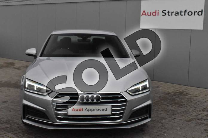 Image seven of this 2018 Audi A5 Diesel Coupe Diesel 2.0 TDI S Line 2dr S Tronic in Floret Silver Metallic at Coventry Audi