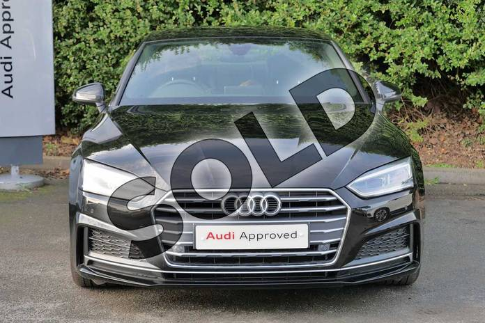 Image seven of this 2018 Audi A5 Diesel Coupe Diesel 2.0 TDI S Line 2dr S Tronic in Myth Black Metallic at Worcester Audi