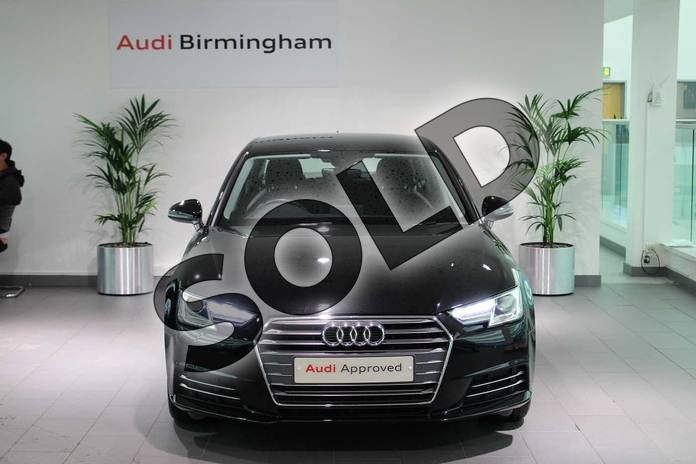 Image seven of this 2018 Audi A4 Diesel Saloon Diesel 2.0 TDI Ultra SE 4dr in Myth Black Metallic at Worcester Audi