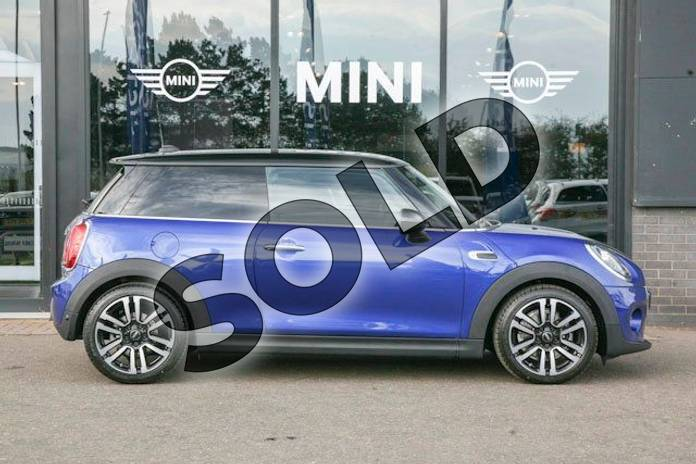 Image three of this 2018 MINI Hatchback 1.5 Cooper II 3dr in Starlight Blue at Listers Boston (MINI)