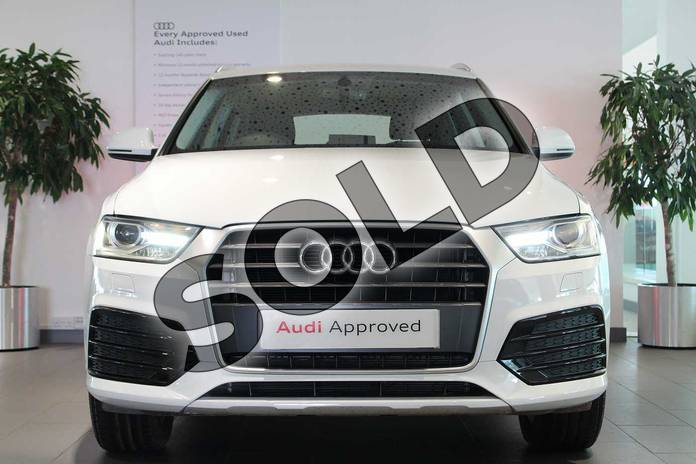 Image seven of this 2018 Audi Q3 Estate 1.4T FSI Sport 5dr S Tronic in Glacier White Metallic at Birmingham Audi