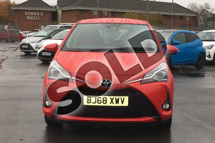 Image fifteen of this 2018 Toyota Yaris Hatchback 1.5 VVT-i Design 5dr in Chilli Red at Listers Toyota Coventry