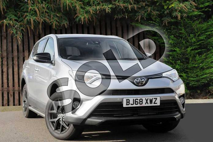 Picture of Toyota RAV4 Diesel 2.0 D-4D Excel 5dr 2WD in Silver Blade