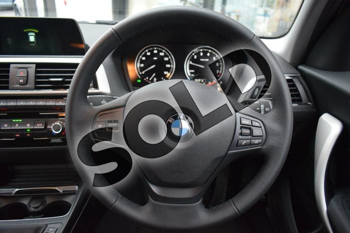 Image seven of this 2018 BMW 1 Series Hatchback 118i (1.5) SE 5dr in Jet Black at Listers Boston (BMW)