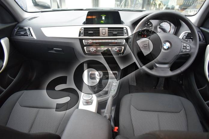 Image eight of this 2018 BMW 1 Series Hatchback 118i (1.5) SE 5dr in Jet Black at Listers Boston (BMW)