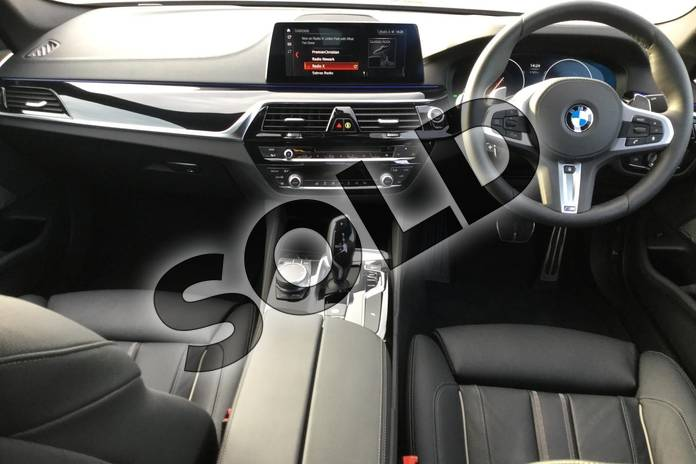 Image six of this 2018 BMW 5 Series Saloon 530i M Sport 4dr Auto in Black Sapphire metallic paint at Listers Boston (BMW)
