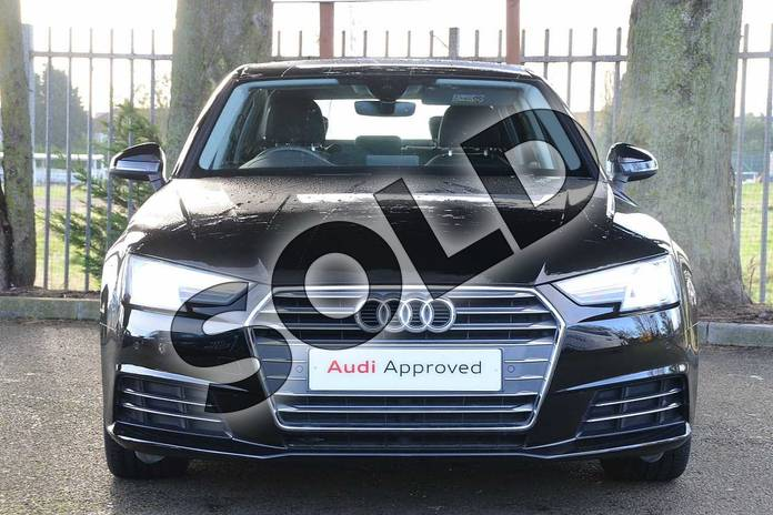 Image seven of this 2018 Audi A4 Diesel Saloon Diesel 2.0 TDI Ultra SE 4dr in Myth Black Metallic at Stratford Audi