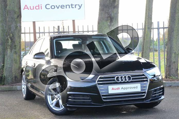 Picture of Audi A4 Diesel 2.0 TDI Ultra Sport 4dr in Myth Black Metallic
