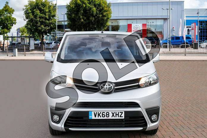 Image seven of this 2018 Toyota PROACE VERSO Diesel Estate Diesel 1.6D Shuttle Medium 5dr in Aluminium Silver at Listers Toyota Cheltenham