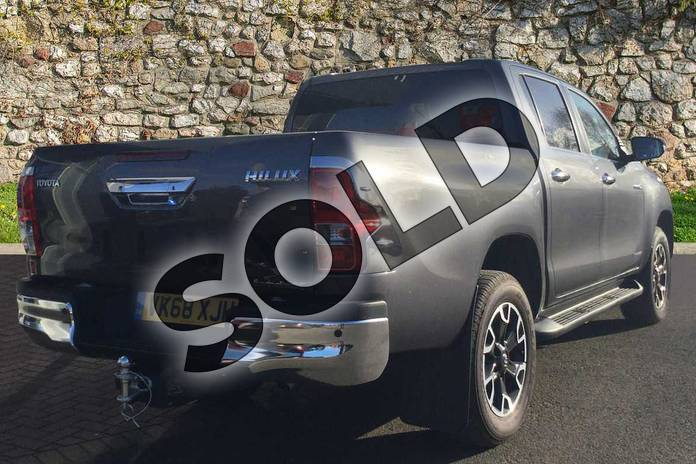 Image two of this 2018 Toyota Hilux Diesel Diesel Invincible X D/Cab Pick Up 2.4 D-4D in Decuma Grey at Listers Toyota Cheltenham