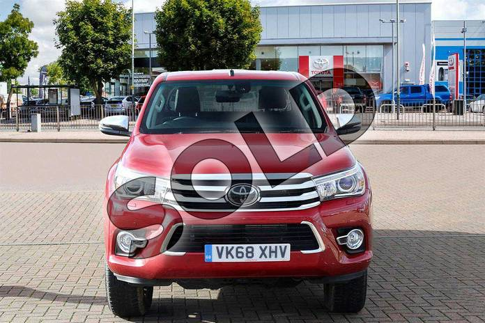 Image seven of this 2018 Toyota Hilux Diesel Diesel Invincible X D/Cab Pick Up 2.4 D-4D Auto in Crimson Red at Listers Toyota Cheltenham