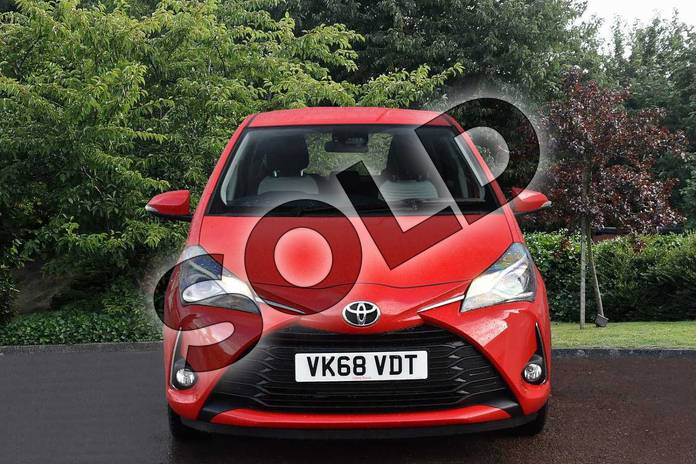 Image seven of this 2018 Toyota Yaris Hatchback 1.5 VVT-i Icon 5dr in Red at Listers Toyota Stratford-upon-Avon