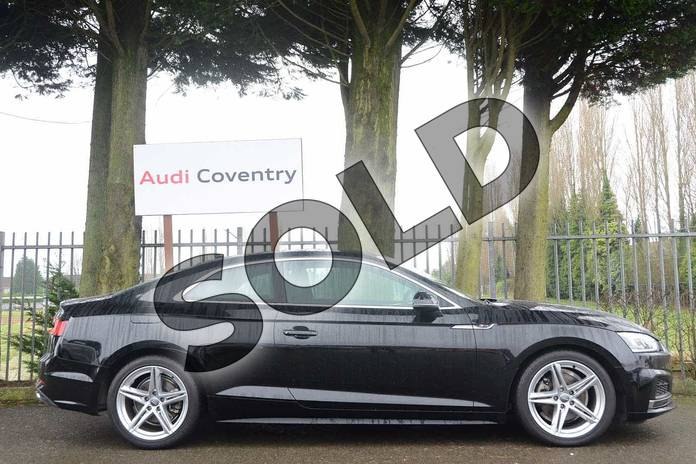 Image four of this 2018 Audi A5 Coupe 2.0 TFSI S Line 2dr S Tronic in Myth Black Metallic at Stratford Audi