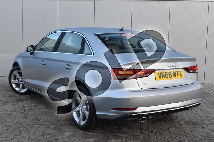 Image three of this 2018 Audi A3 Saloon 30 TFSI Sport 4dr S Tronic in Floret Silver Metallic at Stratford Audi