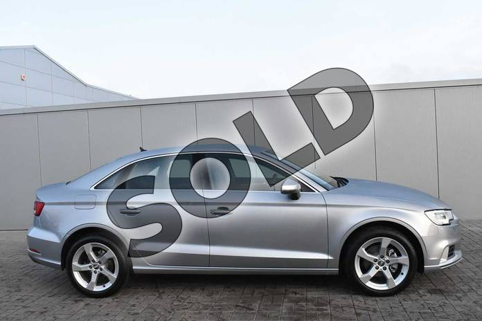 Image four of this 2018 Audi A3 Saloon 30 TFSI Sport 4dr S Tronic in Floret Silver Metallic at Stratford Audi