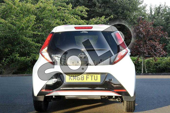 Image five of this 2018 Toyota Aygo Hatchback 1.0 VVT-i X-Press 5dr in White at Listers Toyota Nuneaton