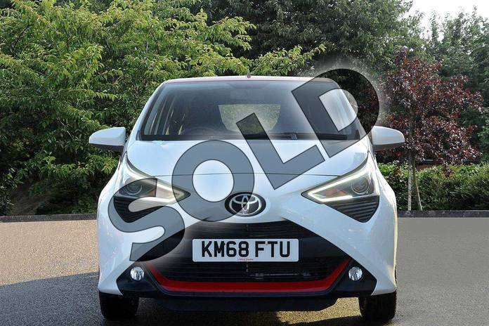 Image nine of this 2018 Toyota Aygo Hatchback 1.0 VVT-i X-Press 5dr in White at Listers Toyota Nuneaton