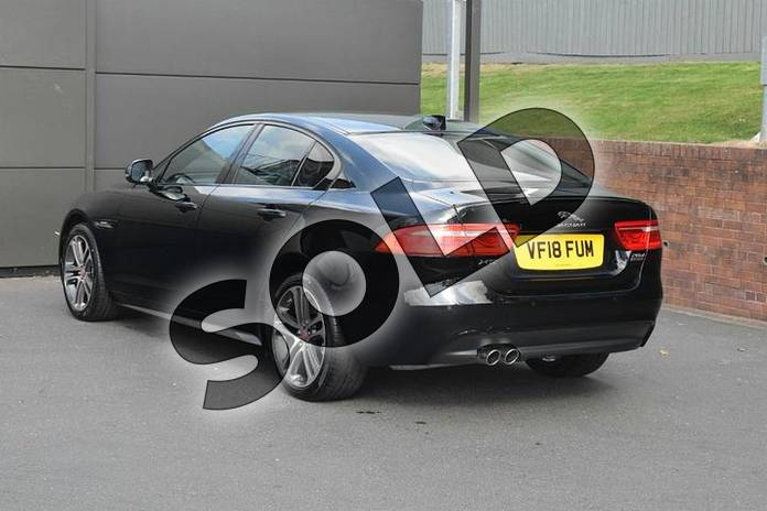 Image two of this 2018 Jaguar XE Diesel Saloon Diesel 2.0d (180) R-Sport 4dr Auto AWD in Narvik Black at Listers Jaguar Droitwich