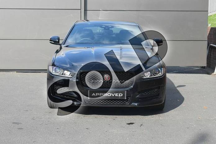 Image seven of this 2018 Jaguar XE Diesel Saloon Diesel 2.0d (180) R-Sport 4dr Auto AWD in Narvik Black at Listers Jaguar Droitwich