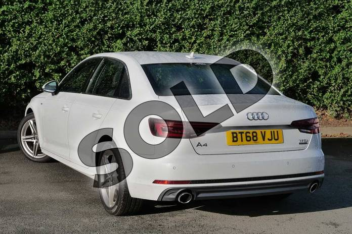 Image three of this 2018 Audi A4 Saloon 2.0T FSI 252 Quattro S Line 4dr S Tronic in Glacier White Metallic at Coventry Audi