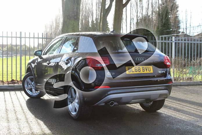 Image three of this 2018 Audi Q2 Estate 30 TFSI Sport 5dr S Tronic in Myth Black Metallic at Coventry Audi