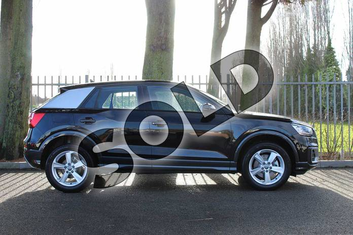 Image four of this 2018 Audi Q2 Estate 30 TFSI Sport 5dr S Tronic in Myth Black Metallic at Coventry Audi