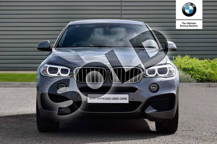 Image four of this 2018 BMW X6 Diesel Estate Diesel xDrive40d M Sport 5dr Step Auto in Space Grey at Listers Boston (BMW)