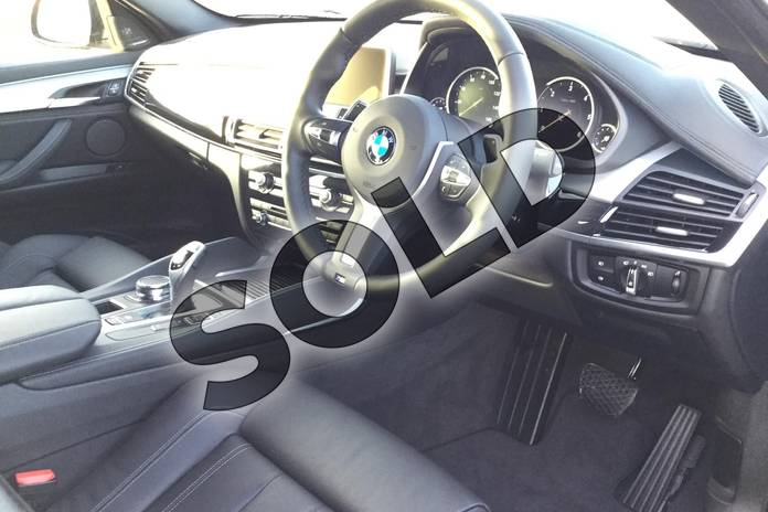Image five of this 2018 BMW X6 Diesel Estate Diesel xDrive40d M Sport 5dr Step Auto in Space Grey at Listers Boston (BMW)